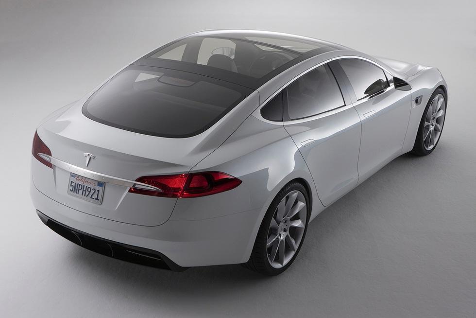 Här är Tesla Model S