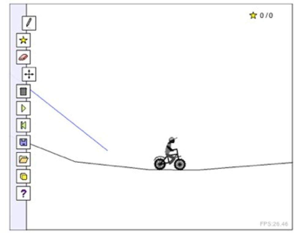 Line Rider-klon som man själv får styra