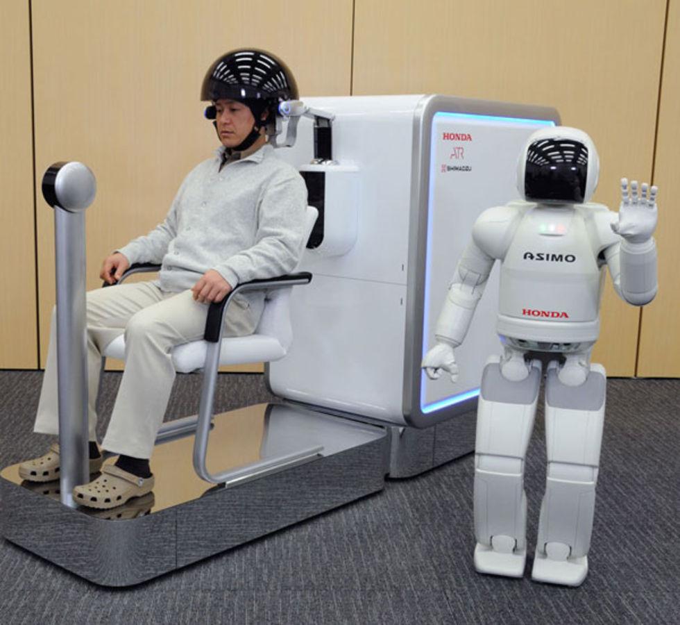 Styr en robot med hjärnan