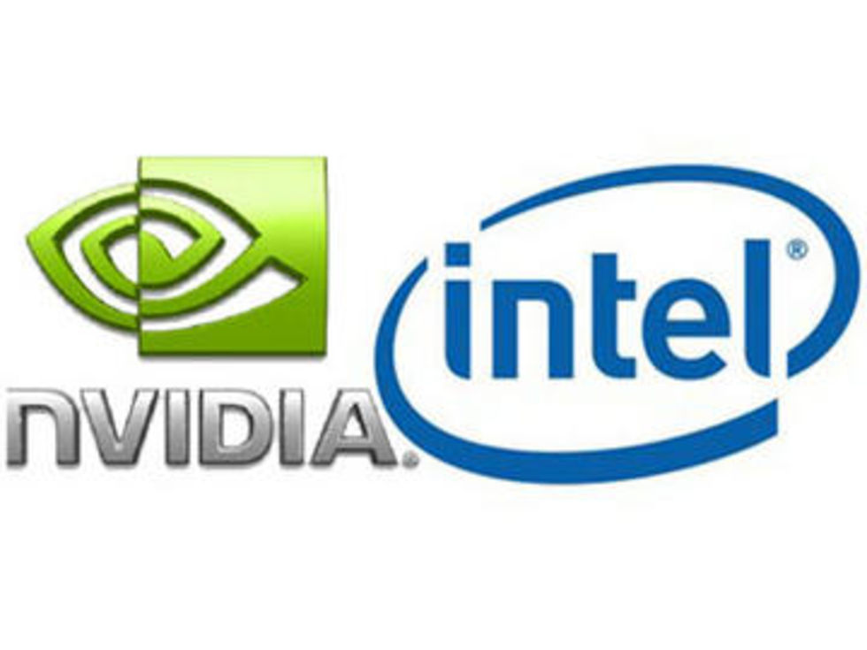 Nvidia hotar Intel på liknande sätt som Intel hotar AMD