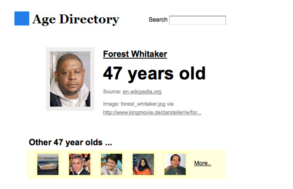Age Directory