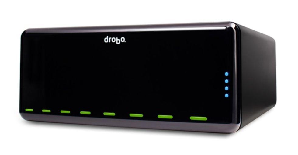 Drobo Pro - NAS med åtta diskar