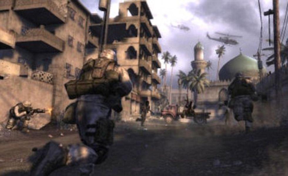 Irak-FPS väcker ilska