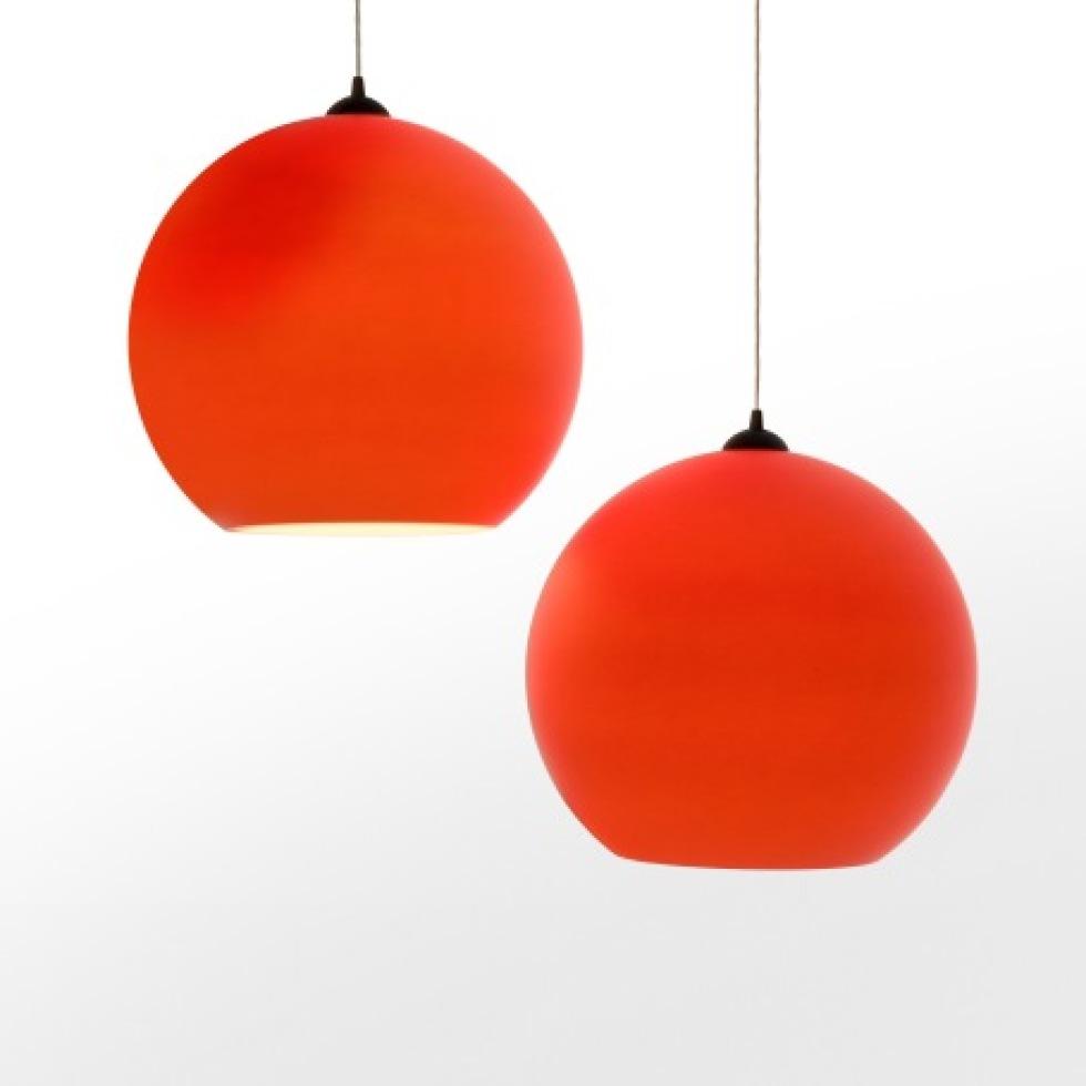 Stor, rund och orange