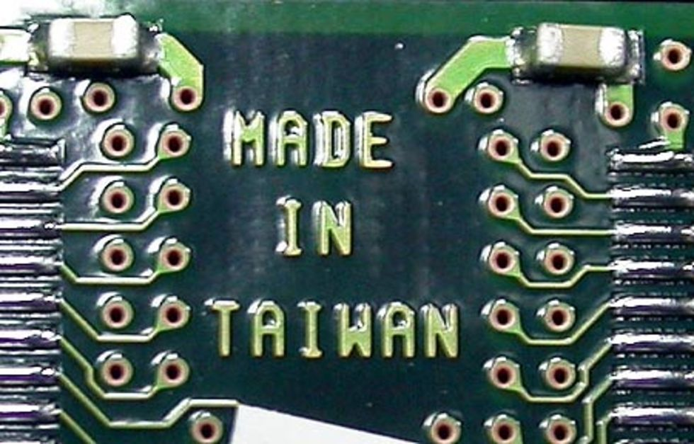 Taiwan inför P2P