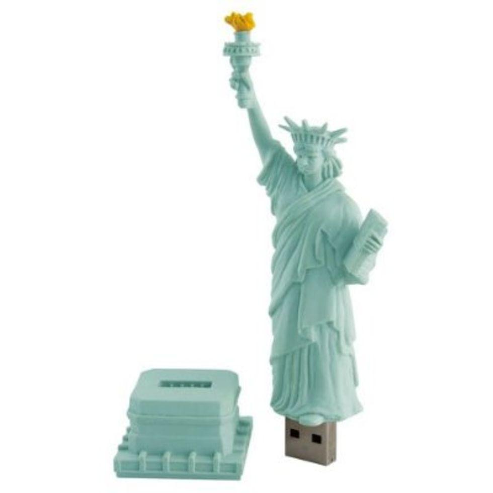 Frihetsgudinnan som USB-minne