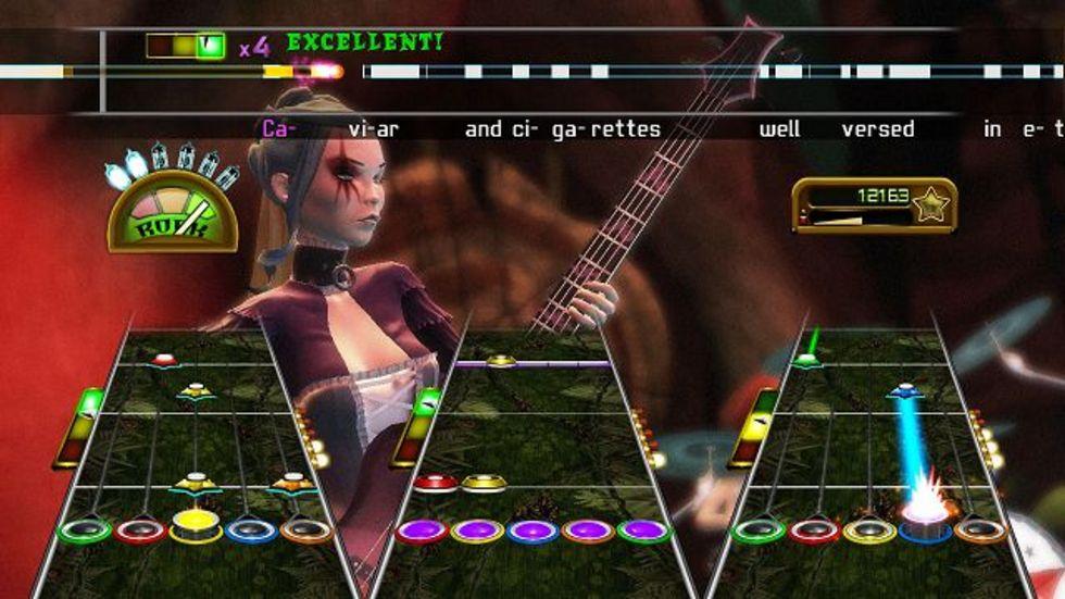 Låtlistan till Guitar Hero Greatest Hits