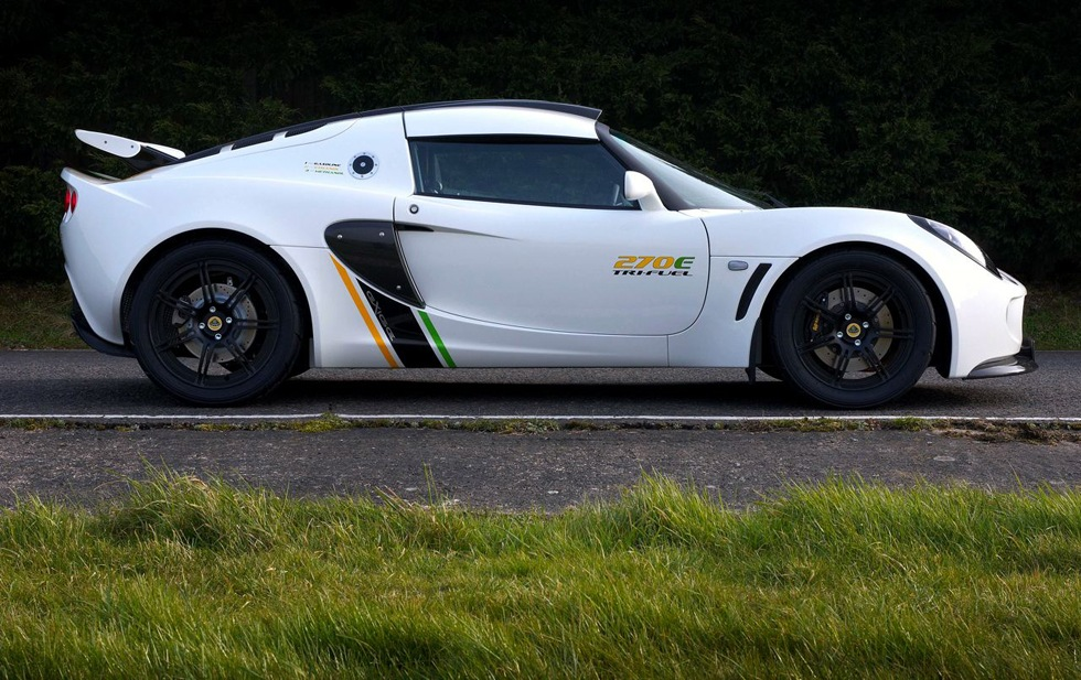 Lotus Exige 270E Tri-Fuel är snart i produktion
