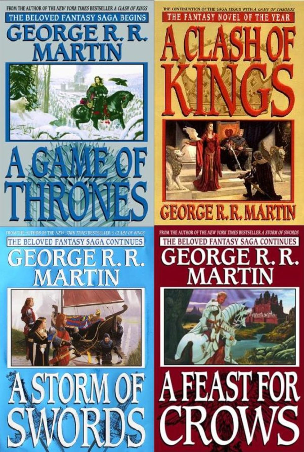 A Song of Ice and Fire blir spel