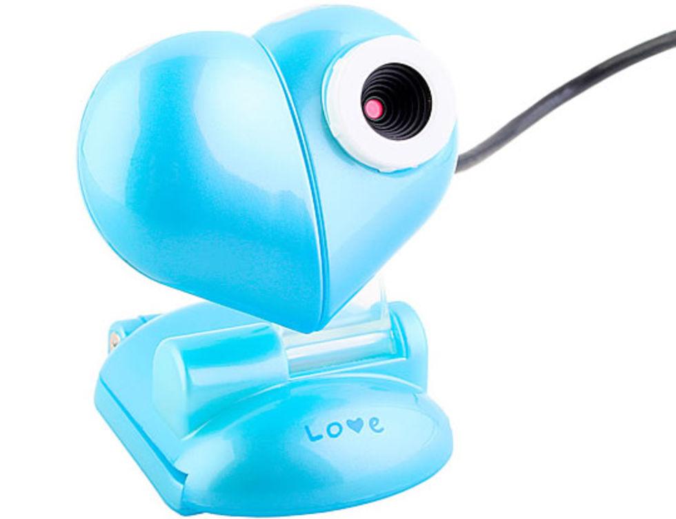 Kärleksfull webbkamera