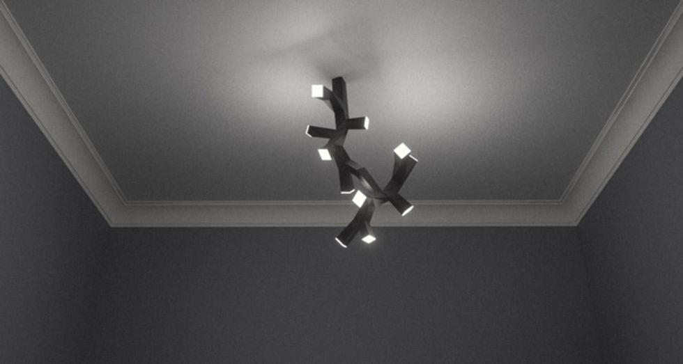 Bygg ihop en taklampa