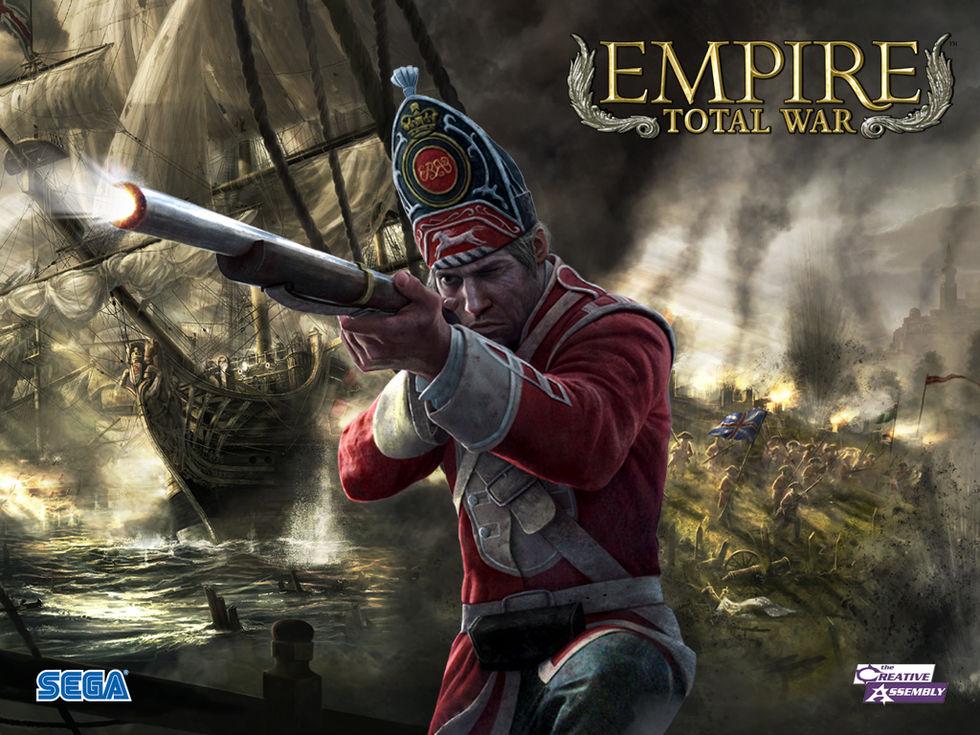Uppdatering och DLC till Empire: Total War