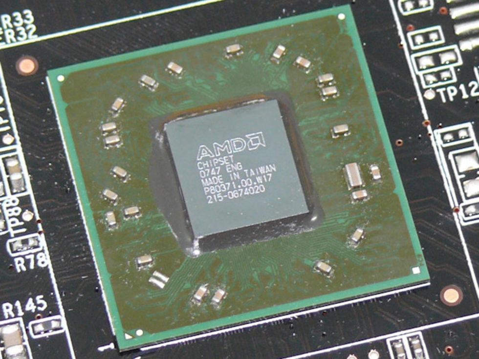 Information om grafiken i AMDs RS880-chipset