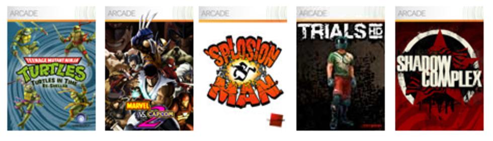 Summer of Arcade 2009 på Xbox Live