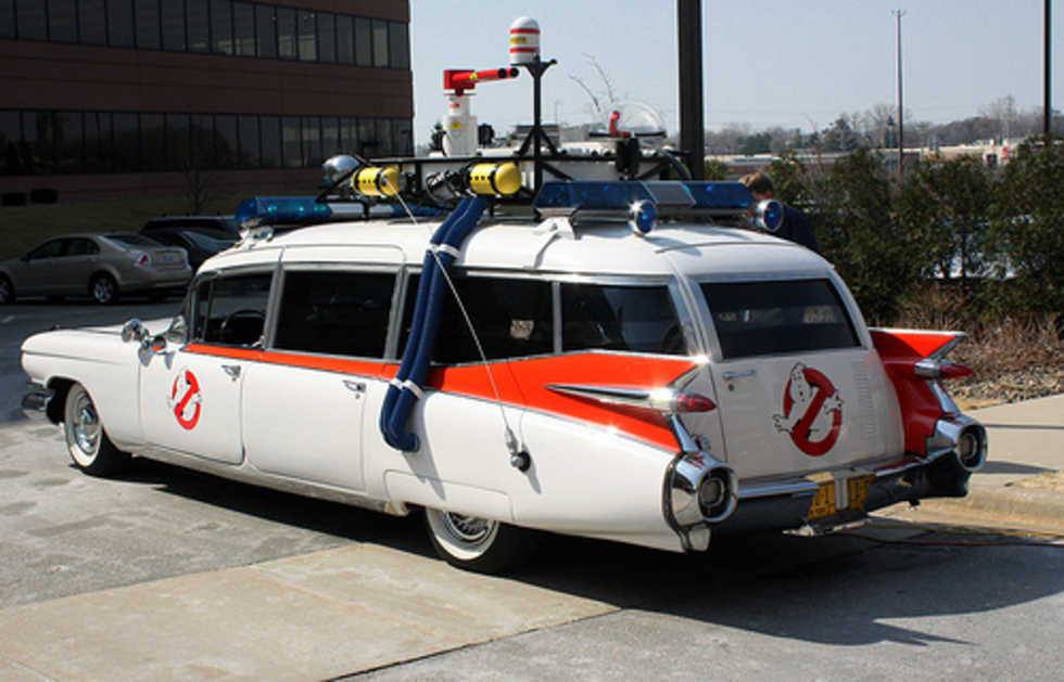 Ghostbusters-bilen såld på eBay