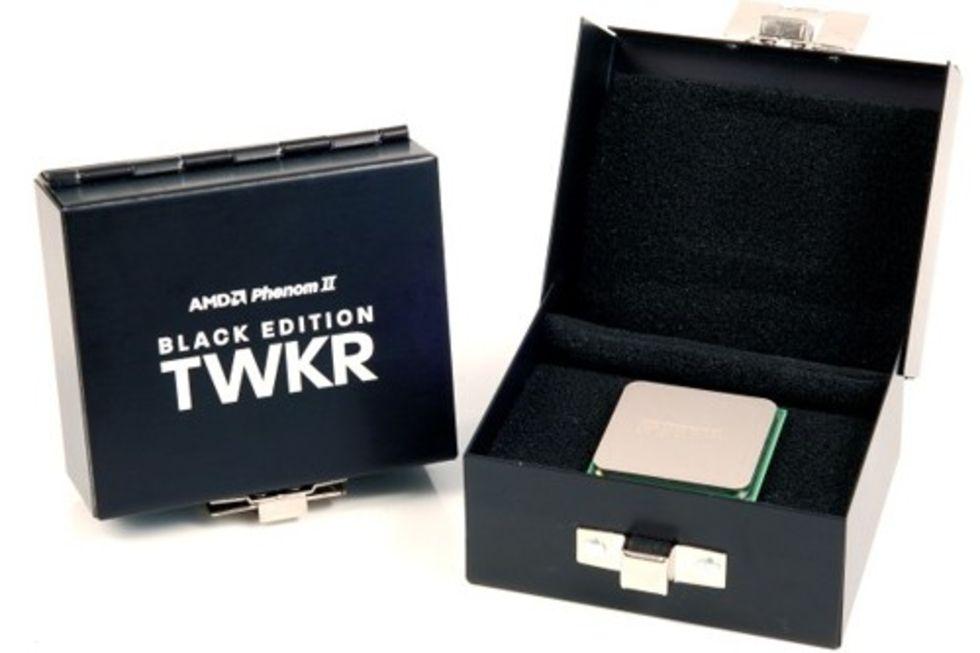 AMD Phenom II TWKR Black Edition dyker upp på Ebay
