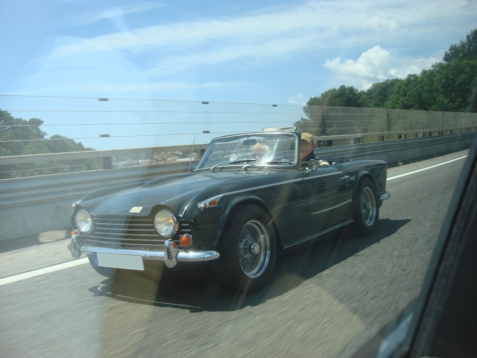 Carspotting: Triumph TR250