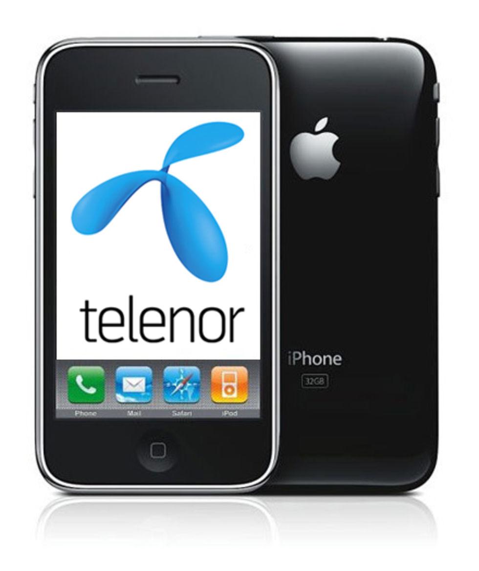 Telenors priser på iPhone 3GS
