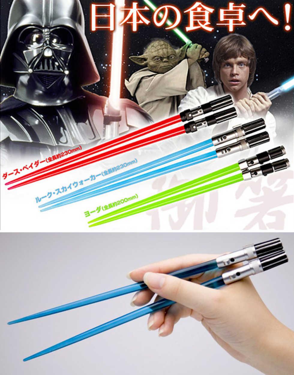 Star Wars-ätpinnar