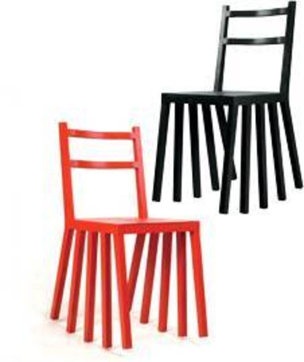 gunga på stolen utan risk. ku di ka är stolen för oss som aldrig