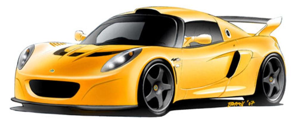 Lotus visar sportigare Exige och lyxigare Europa S
