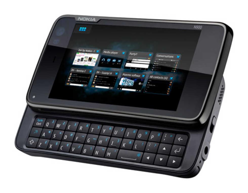 Nokia N900. Med tangentbord  2ba2e28b12301