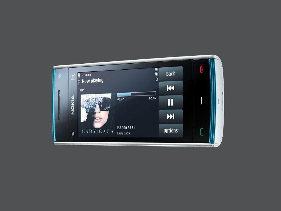 Här är Nokia X6 och X3