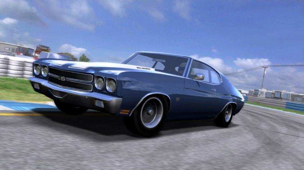 Muskelbilarna i Forza 2 presenterade