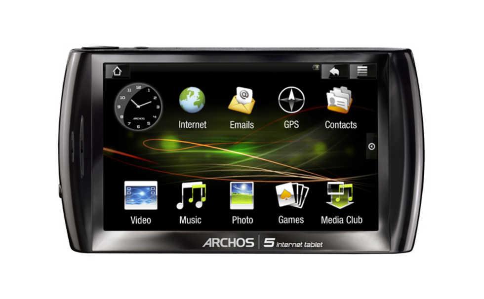 Archos 5 med Android lanserat