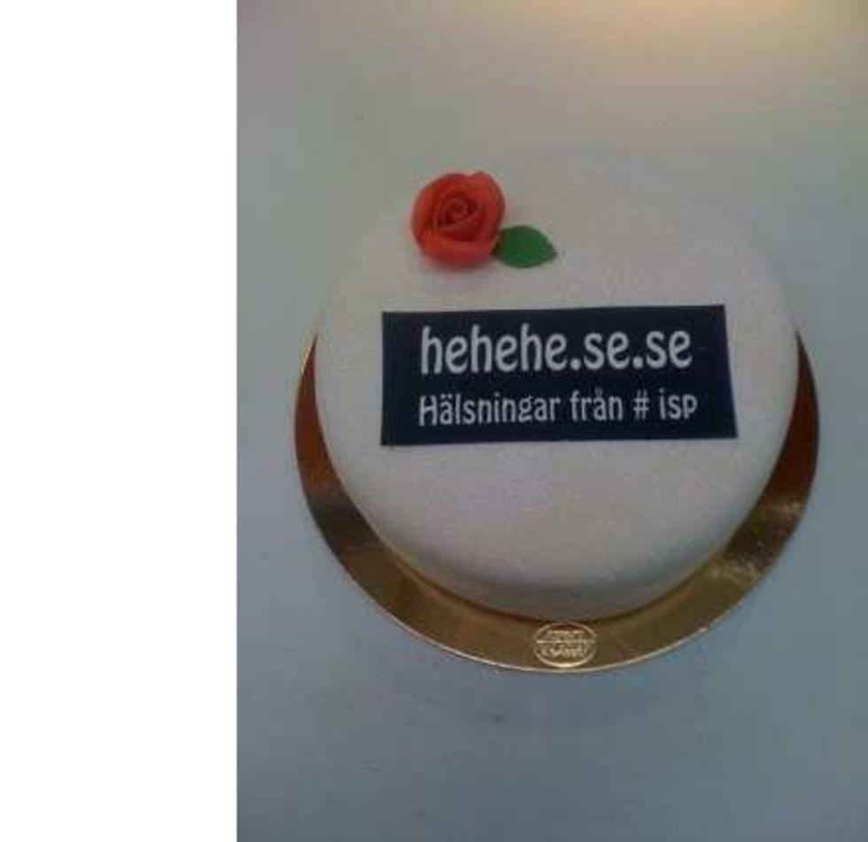 .SE får tårta