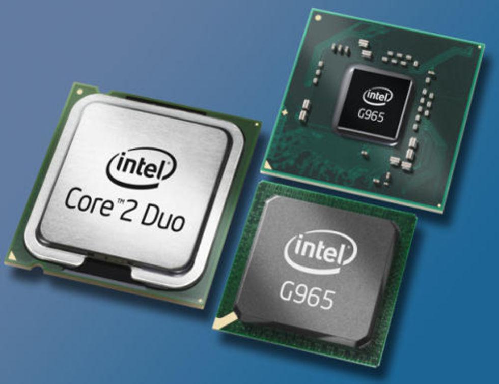 Intel fuskar med grafikdrivrutiner