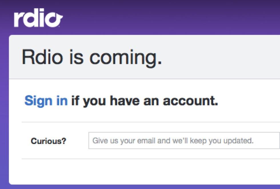 Rdio - Spotify-utmanare från Skype-grundarna