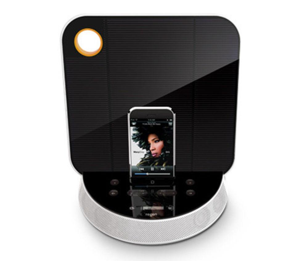 ReNu - solcellsdocka till iPod