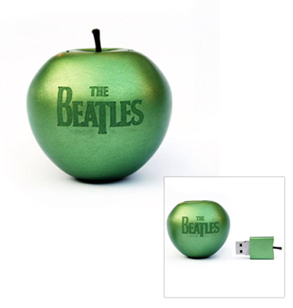 Ett äpple med alla Beatles låtar