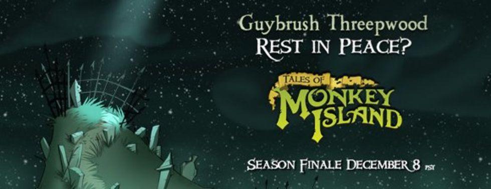 Sista Tales of Monkey Island-kapitlet 8 december