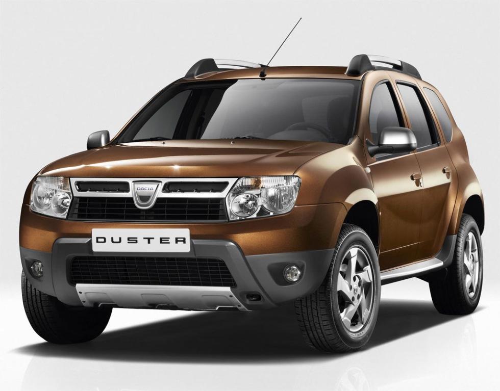 Dacia Duster ger sig in i leken