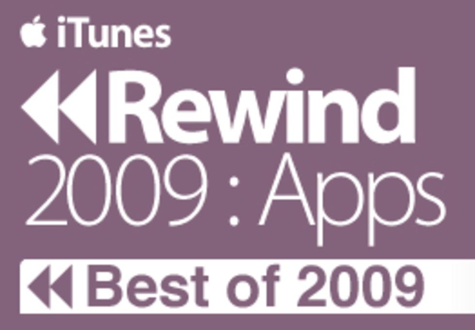 iTunes highlightar de bästa apparna/spelen 2009