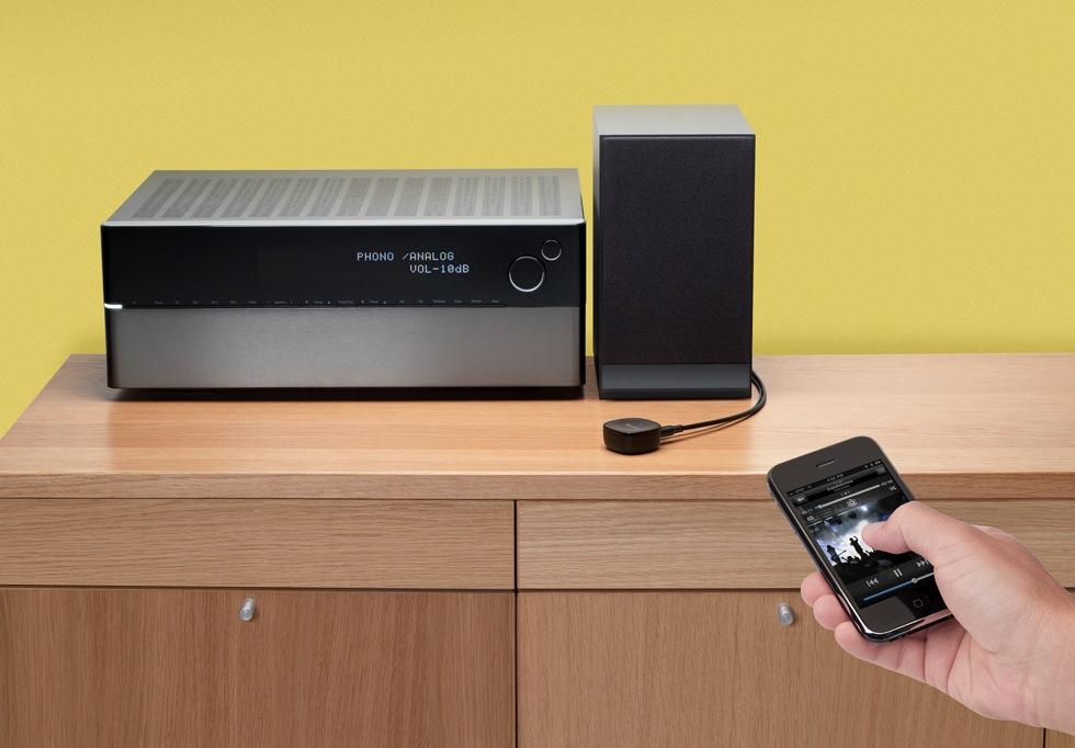 Strömma musik till stereon via Bluetooth