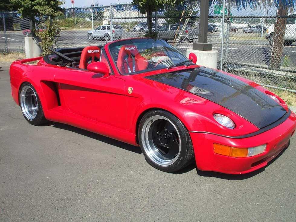 En riktig udda Porsche