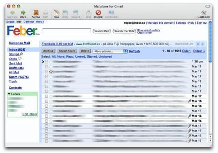 Koppla in kub spam
