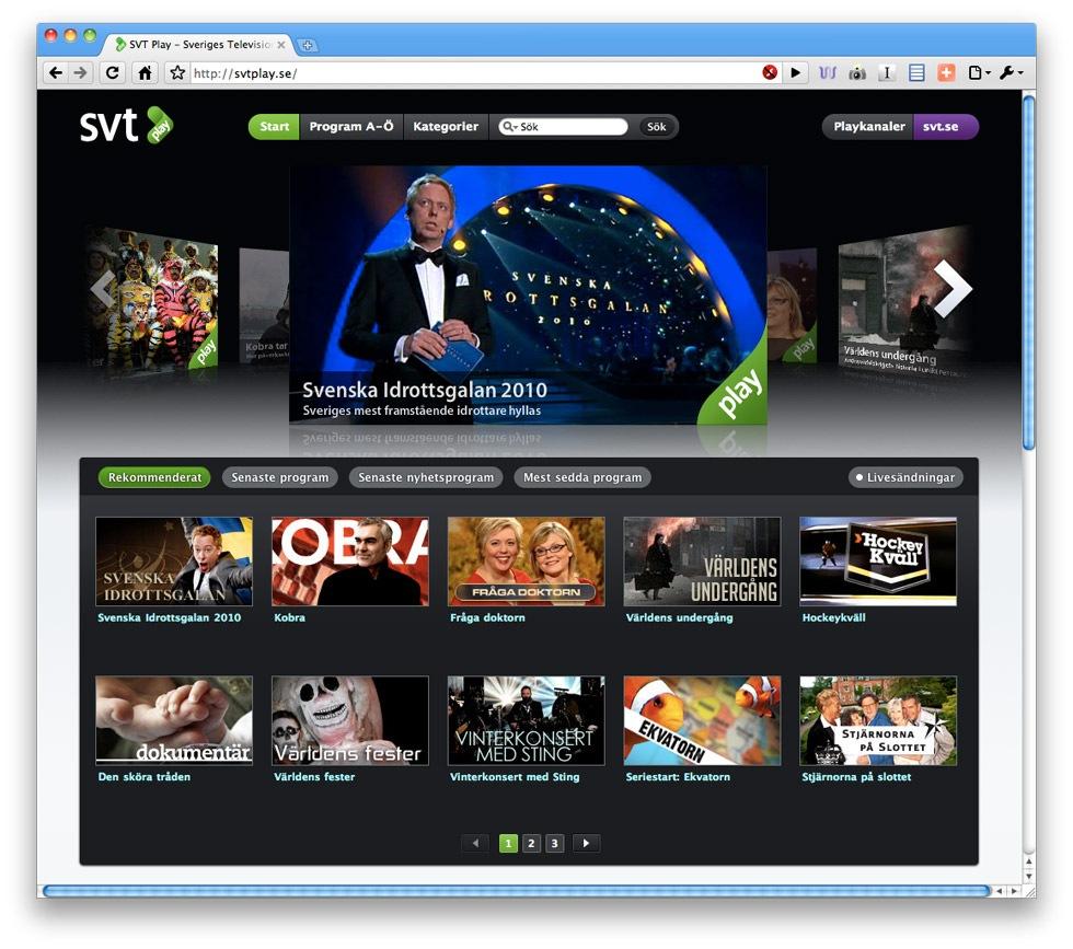 Svenskar ser mer nät-TV än både amerikanare och britter