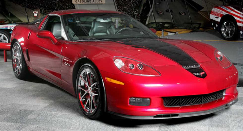 GM auktionerar ut Corvette till förmån för Haitis offer