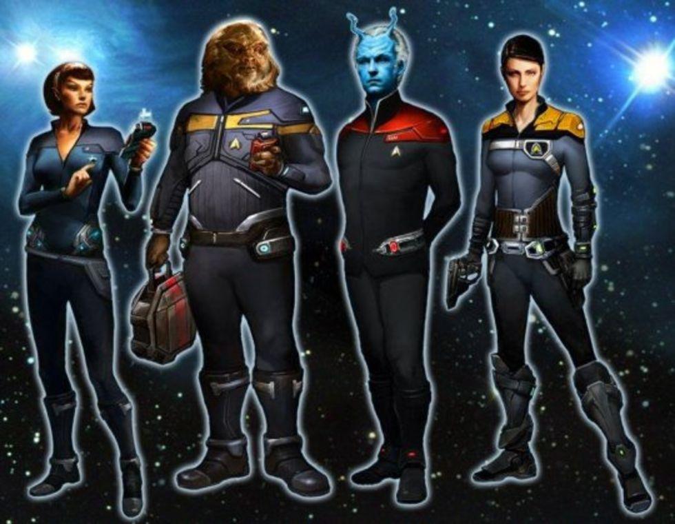 Star Trek Online kanske till konsol
