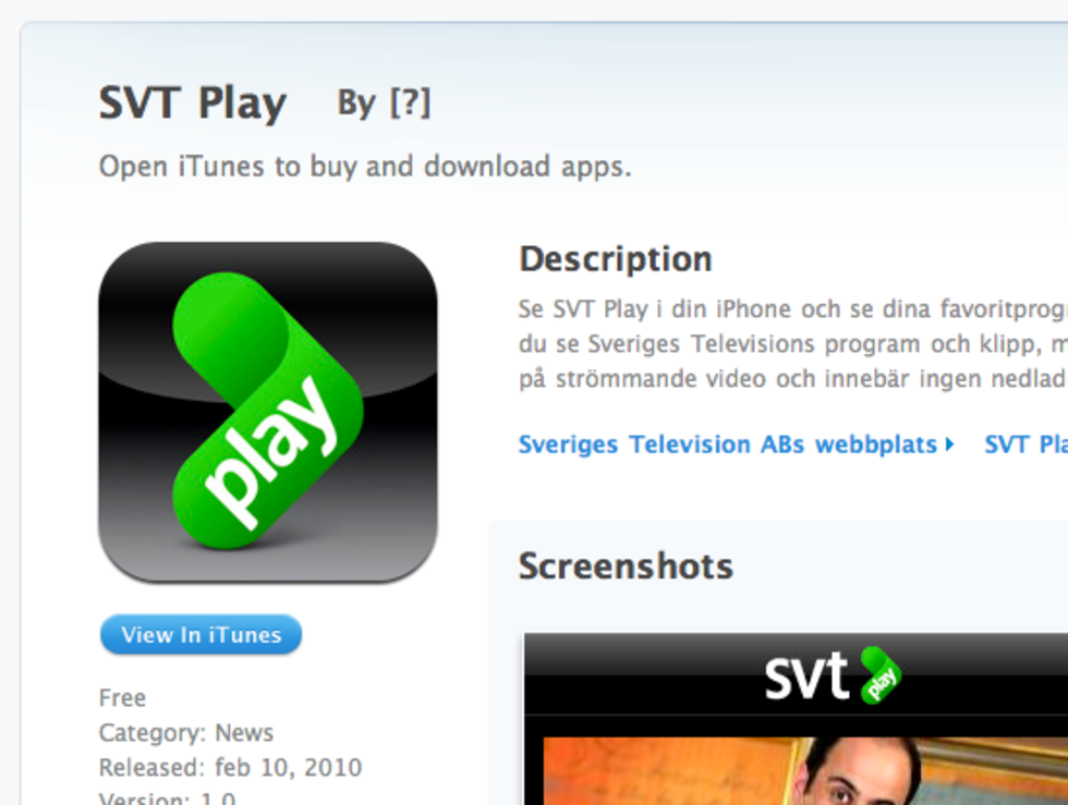 SVT Play äntligen i App Store!