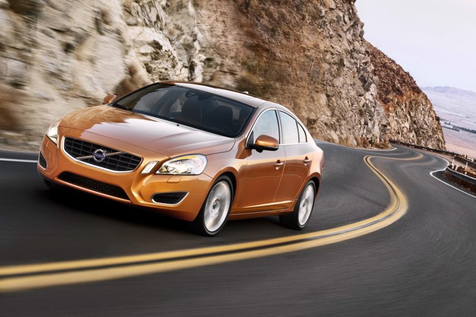 Nya Volvo S60 visar upp sig!