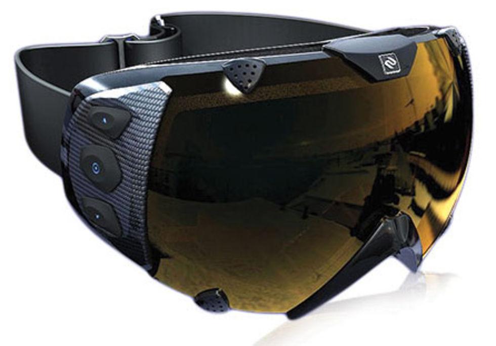Transcend - skidglasögon med GPS