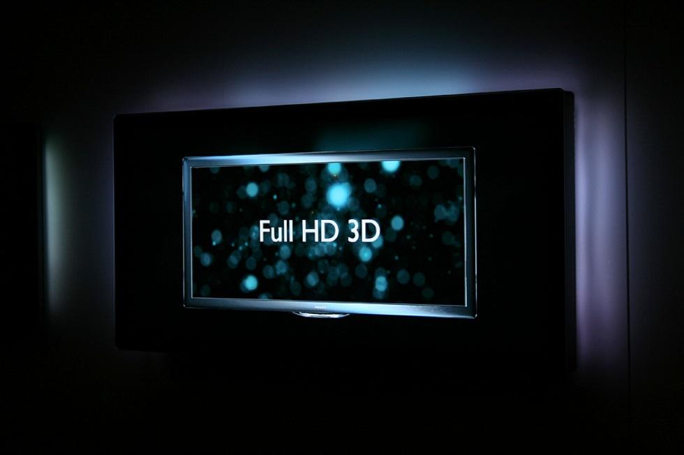 Philips lanserar Full HD 3D-TV till sommaren