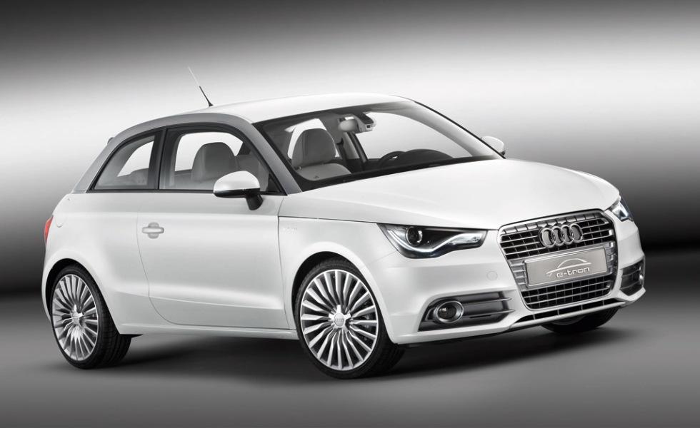 Audi A1 e-tron kommer 2012