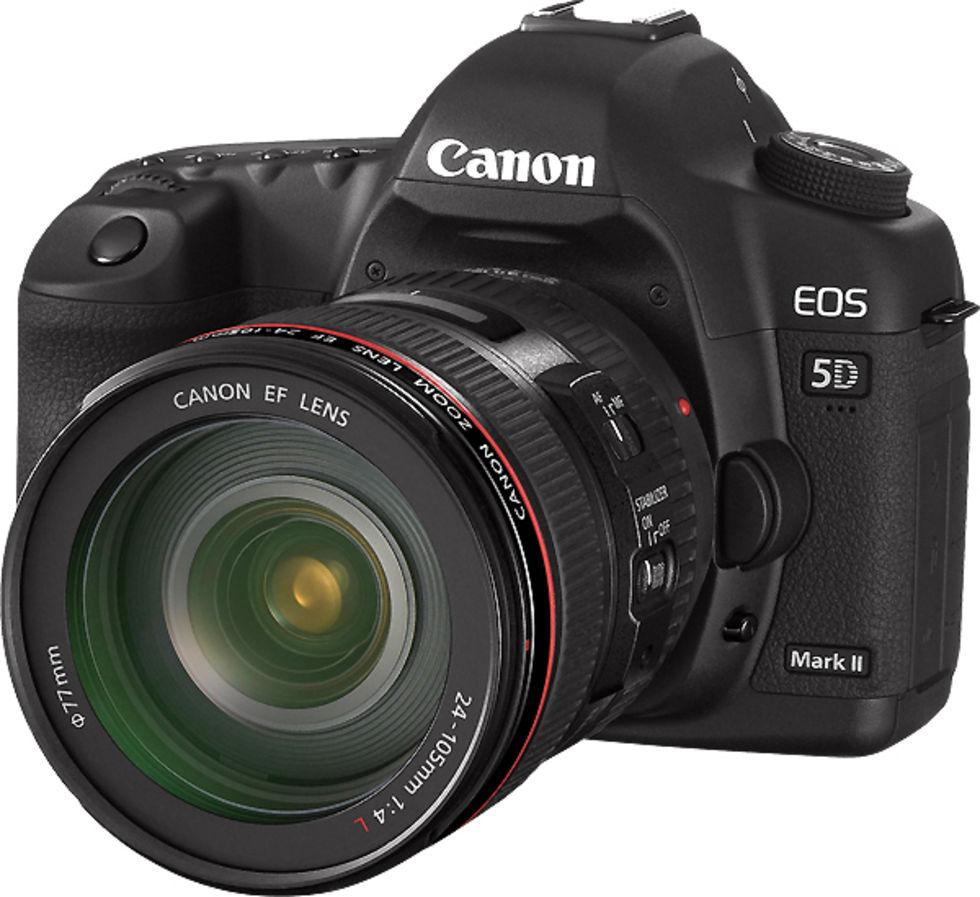Canon 5D mkII:s nya firmware är äntligen här