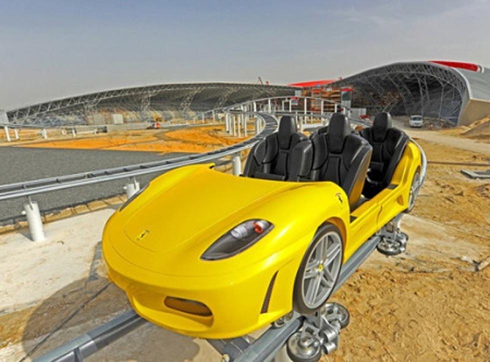 Leklandet för stora pojkar - Ferrari World Abu Dhabi